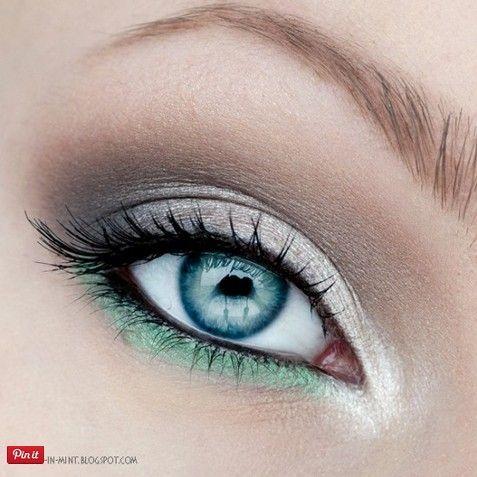Свадьба - 20 Amazing Makeup Tutorials For Blue Eyes