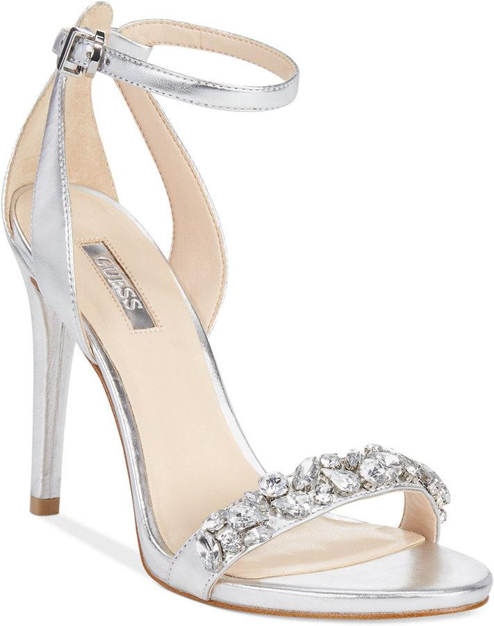 Mariage - GUESS Women's Caterina Two-Piece Sandals