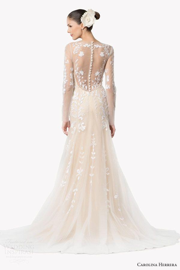 Carolina Herrera Wedding Dress.Carolina Herrera Bridal Fall 2015 Wedding Dresses 2205254