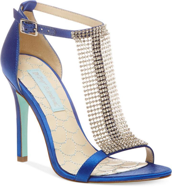 94cc8dd33 Blue By Betsey Johnson Mesh Evening Sandals #2205493 - Weddbook