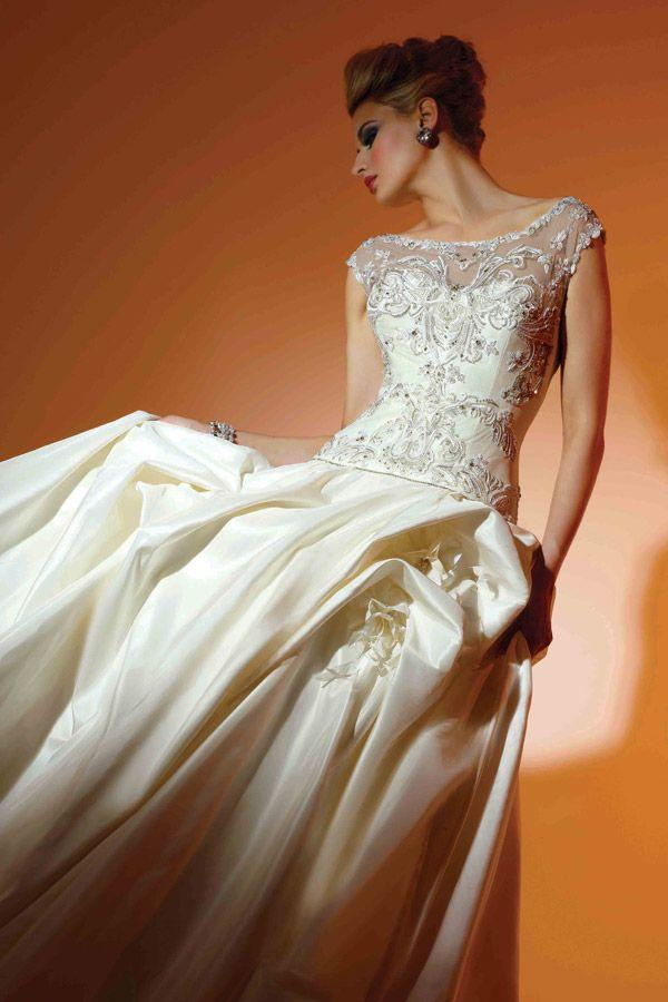 Wedding - Short Sleeved/Cap Sleeved/Off The Shoulder Sleeves Wedding Gown Inspiration