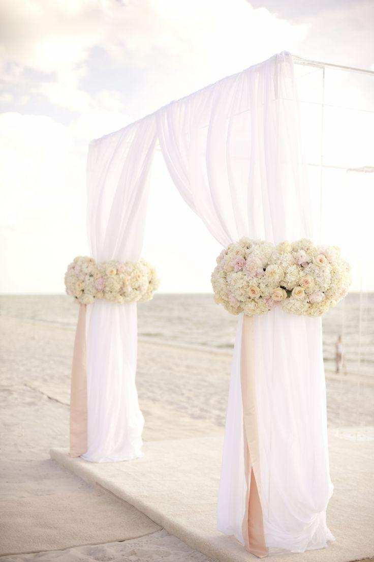 Wedding - A Glamorous Silver & Blush Beach Wedding