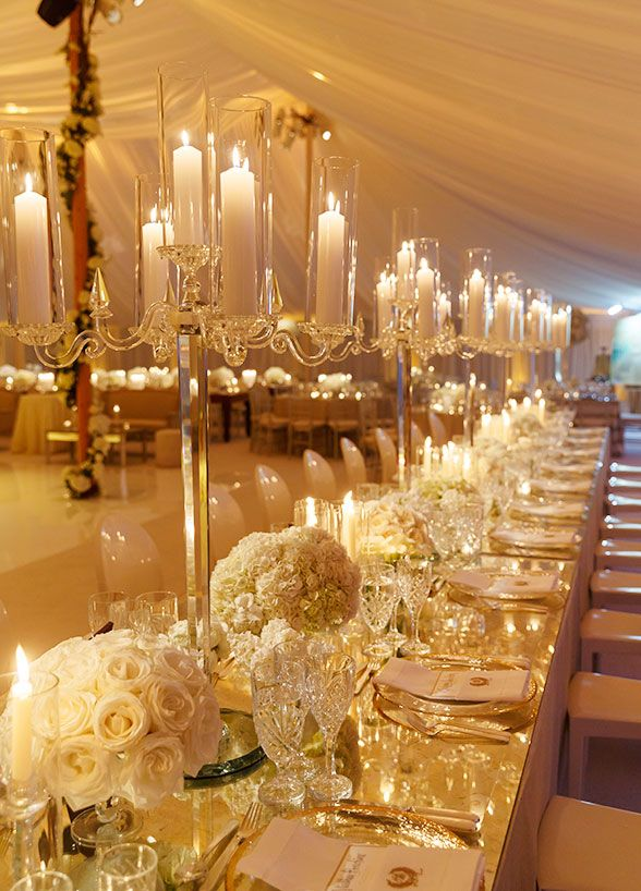 Wedding - Glamorous White Hamptons Wedding