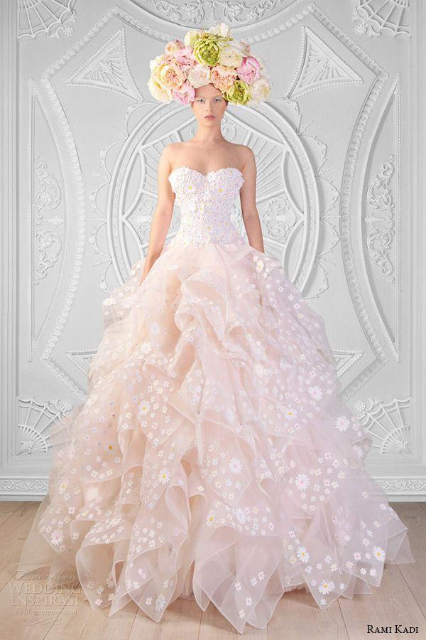 زفاف - Rami Kadi Spring 2014 Couture Collection — Le Royaume Enchant