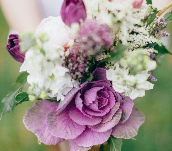 زفاف - Bouquets In  Purple