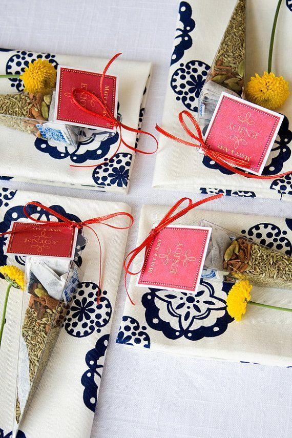 tea party favors unique wedding favor bridal tea favors baby shower tea favours edible favors wedding guest gift