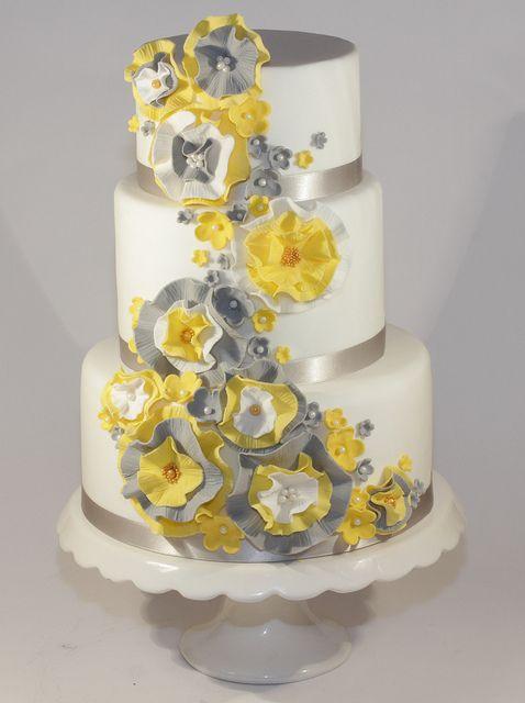 Wedding - Yellow Cake Ideas & Inspirations