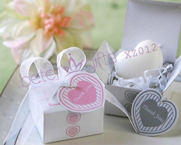 Свадьба - Gift Box Heart Mini-Soap --Pink Box