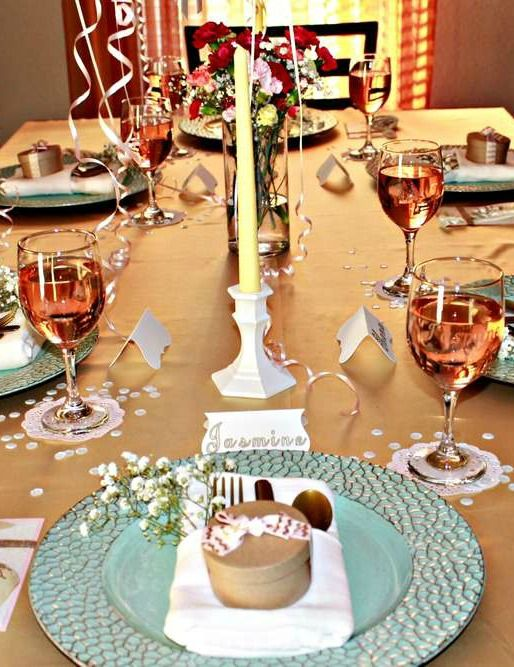 Wedding Dinner Party Ideas Part - 35: Bridesmaid Dinner Party Dinner Party Party Ideas