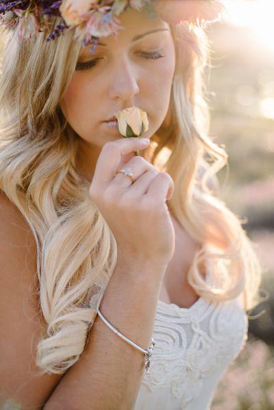 Свадьба - Lavender Farm Engagement Session