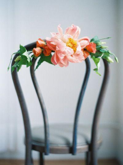 Mariage - Botanical Bridal Boudoir Inspiration