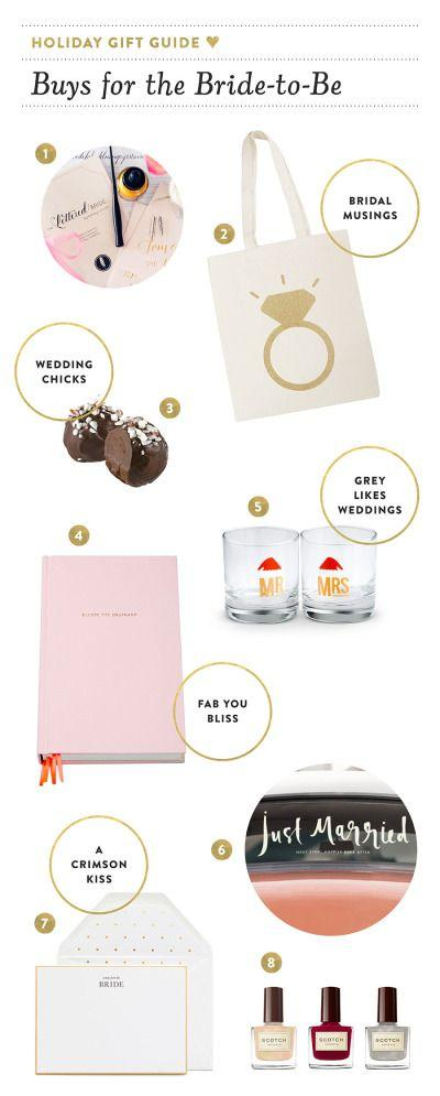 Wedding - Holiday Gift Guide For Brides-to-Be