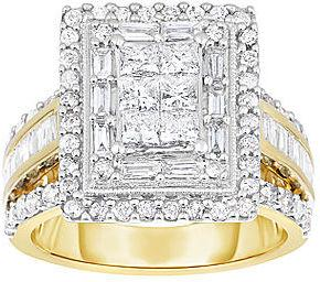 Wedding - FINE JEWELRY 2 CT. T.W. Diamond 14K Two-Tone Gold Multi-Top Bridal Ring