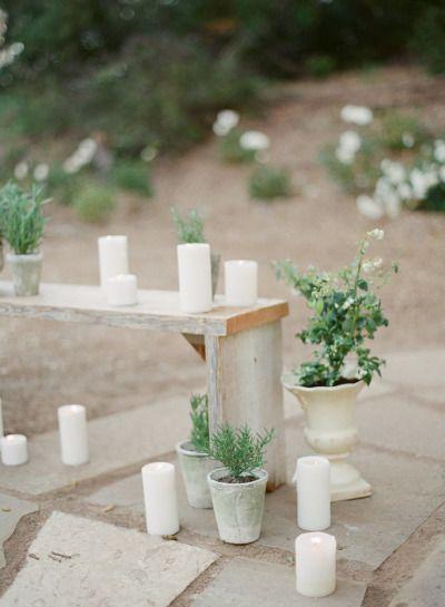 زفاف - Organic Dinner Party Wedding Inspiration