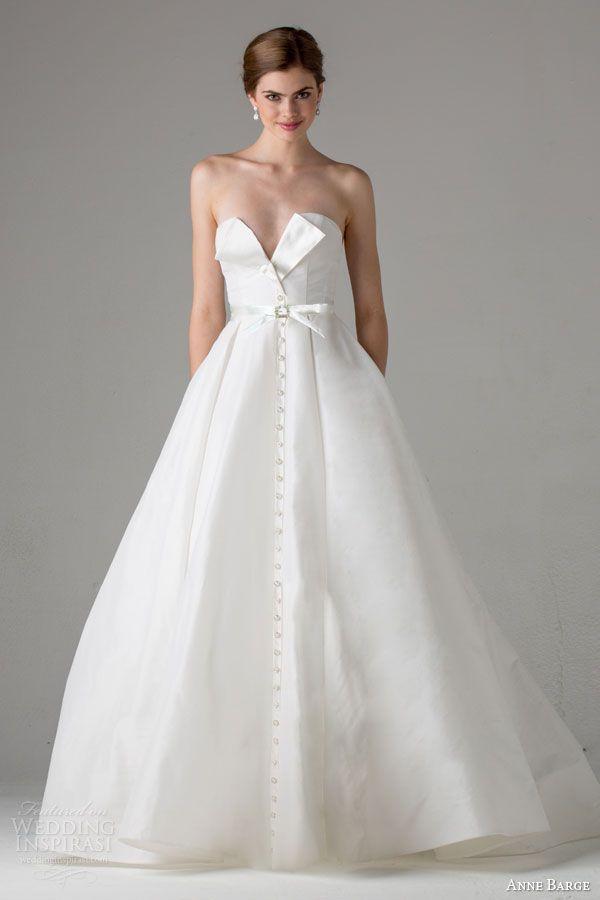 Wedding - Anne Barge Fall 2015 Wedding Dresses