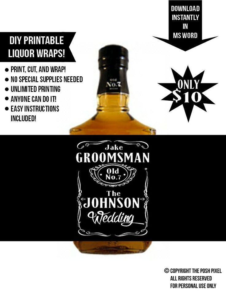 Свадьба - Unique Groomsmen Gift Ideas