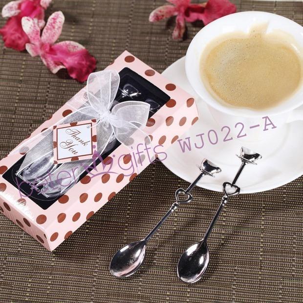 زفاف - Silver Chrome Demitasse Spoons