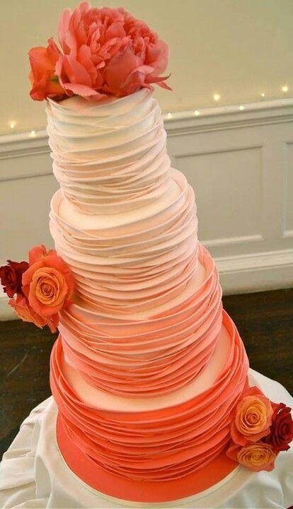 زفاف - Orange Wedding Cake Ideas & Inspirations
