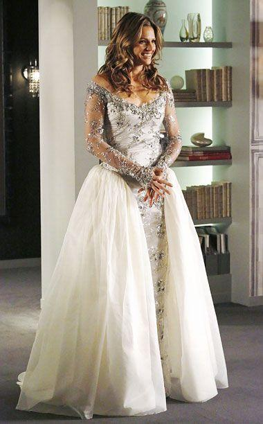Castle What Do You Think Of Beckett S Wedding Dress Poll