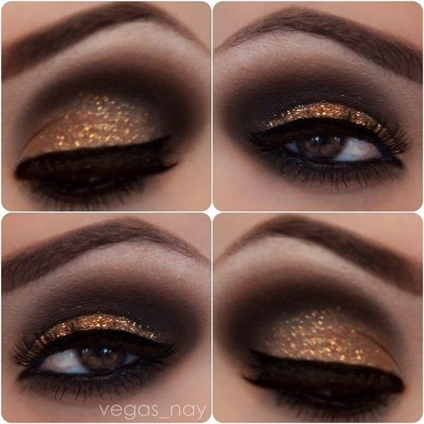 Свадьба - 26 Ways To Make Glitter Your New Smokey Eye