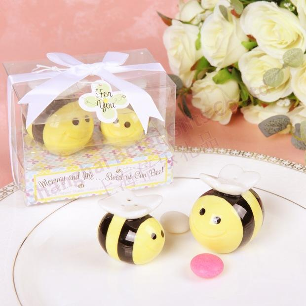 Wedding - 可爱bee小蜜蜂胡椒罐