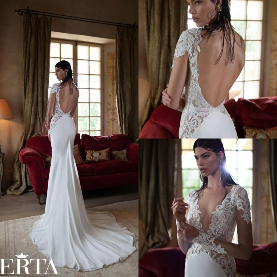 Cheap Berta Wedding Dresses - Discount Hot Sale Berta 2015 Mermaid ...