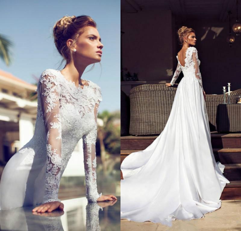 Cheap Wedding Dresses - Discount New Arrival Column Wedding Dresses ...