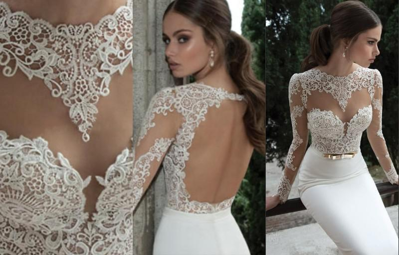 Wedding - Cheap Berta Wedding Dresses - Discount 2015 Sexy Hot Berta Bridal Mermaid Wedding Dresses Online with $83.05/Piece