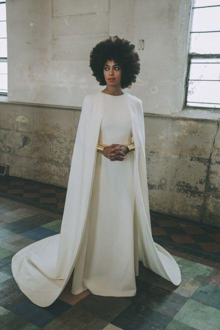 Wedding - Exclusive! A First Look At Solange Knowles's Wedding Dress And Official Portraits