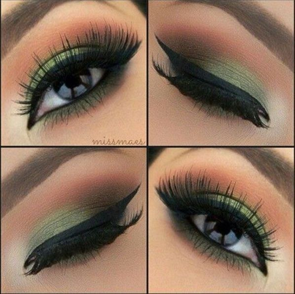 Top 10 Simple Smokey Eye Makeup Tutorials For Green Eyes 2208766