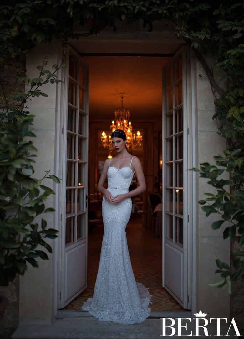 Hochzeit - Cheap Berta Wedding Dresses - Discount Hot Sale Berta 2015 Mermaid Wedding Dresses Spaghetti Online with $124.98/Piece
