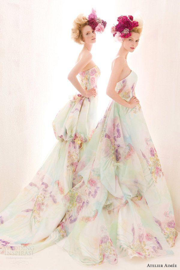 Hochzeit - The Hottest 2015 Wedding Dress Trends — Part 3: Colors
