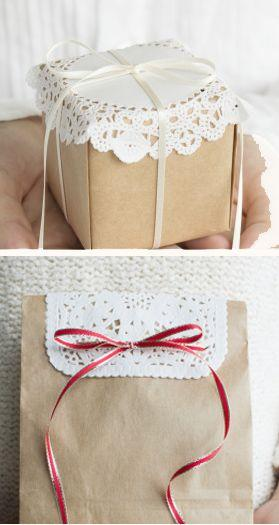 Свадьба - Doily Wedding Decorations