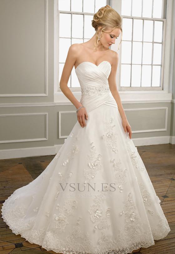 vestido de novia corte princesa #2209816 - weddbook