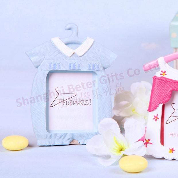 Mariage - Cute Baby Themed Photo Frame/Place Card Favor