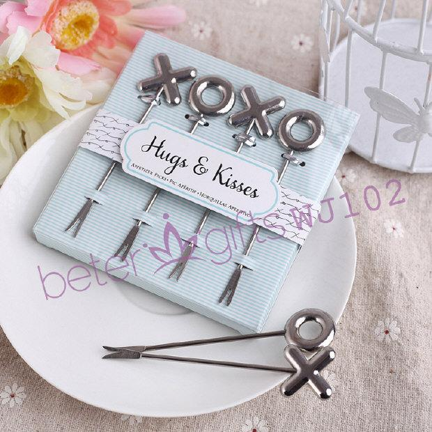 Wedding - XOXO Appetizer Picks Wedding Favor