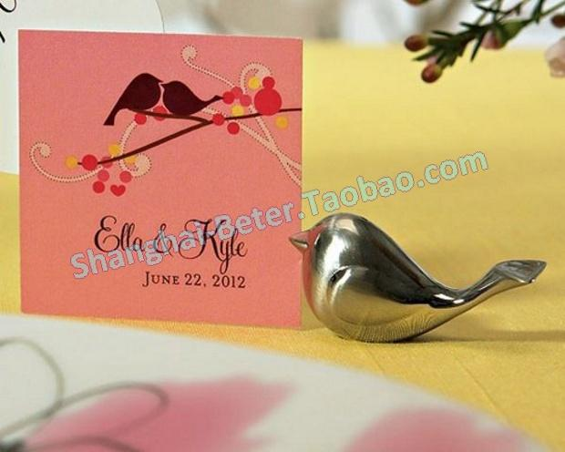 Mariage - Love Bird Place Card Holders
