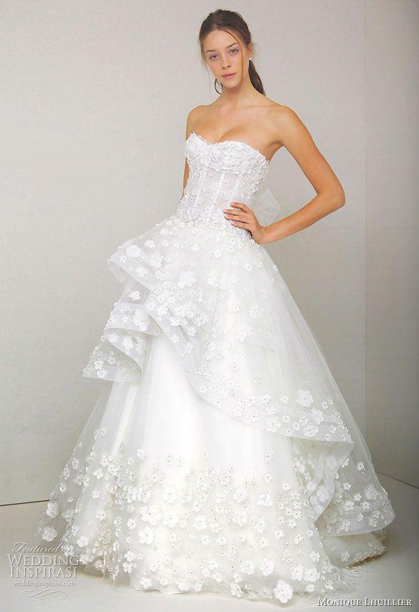 زفاف - Monique Lhuillier Spring 2011 Wedding Dresses