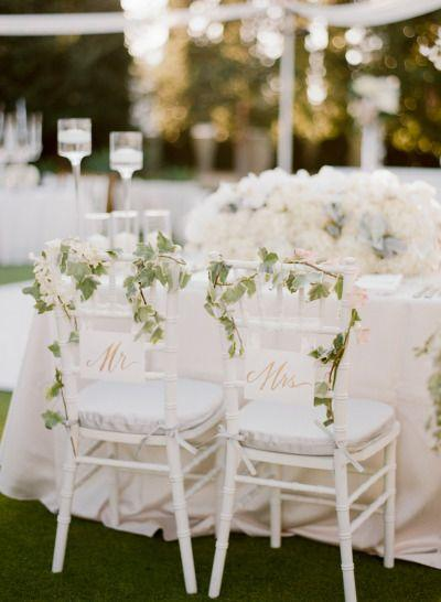 Свадьба - Elegant Blush & Ivory Outdoor Wedding