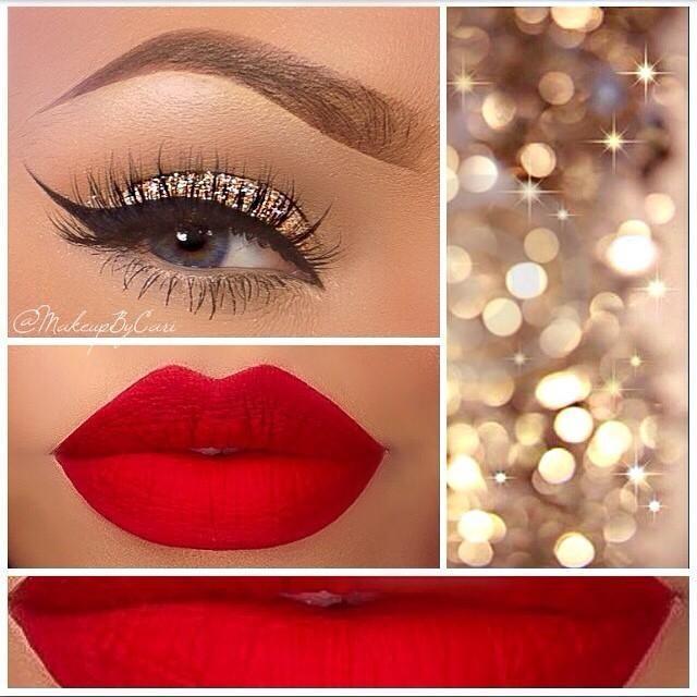Идеи для макияжа с блестками
