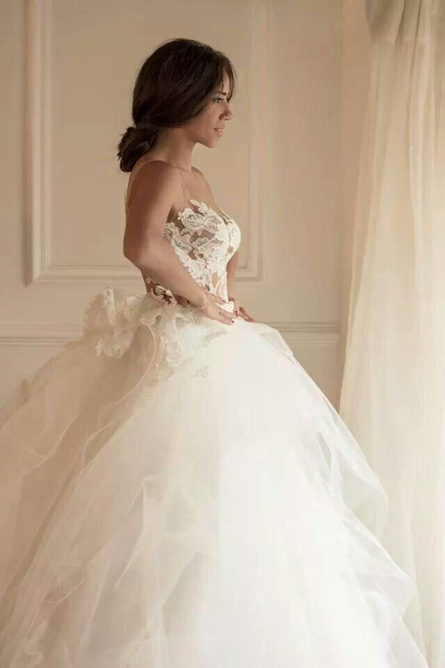 Wedding - Strapless Wedding Dress Inspiration