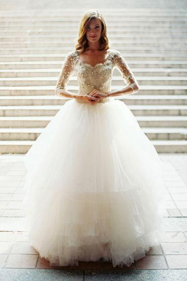 زفاف - 25 Wedding Dresses That Were Pinned (And Re-Pinned, And Re-Pinned) In 2014