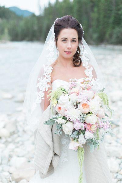 Wedding - Canadian Rocky Mountain Pastel Wedding