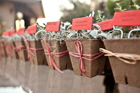 Mariage - Wedding Details: Escort Cards And Place Cards, Part 2