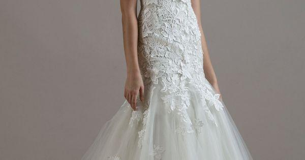 Wedding - Liancarlo Wedding Dresses 2015 Incorporates Romantic, Re-Embroidered Lace For Fall