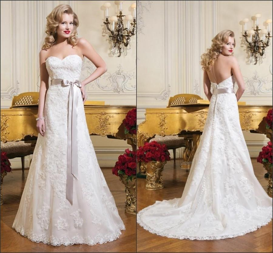 Vintage Lace Wedding Dresses On A Budget : Cheap vintage wedding dresses discount hot selling