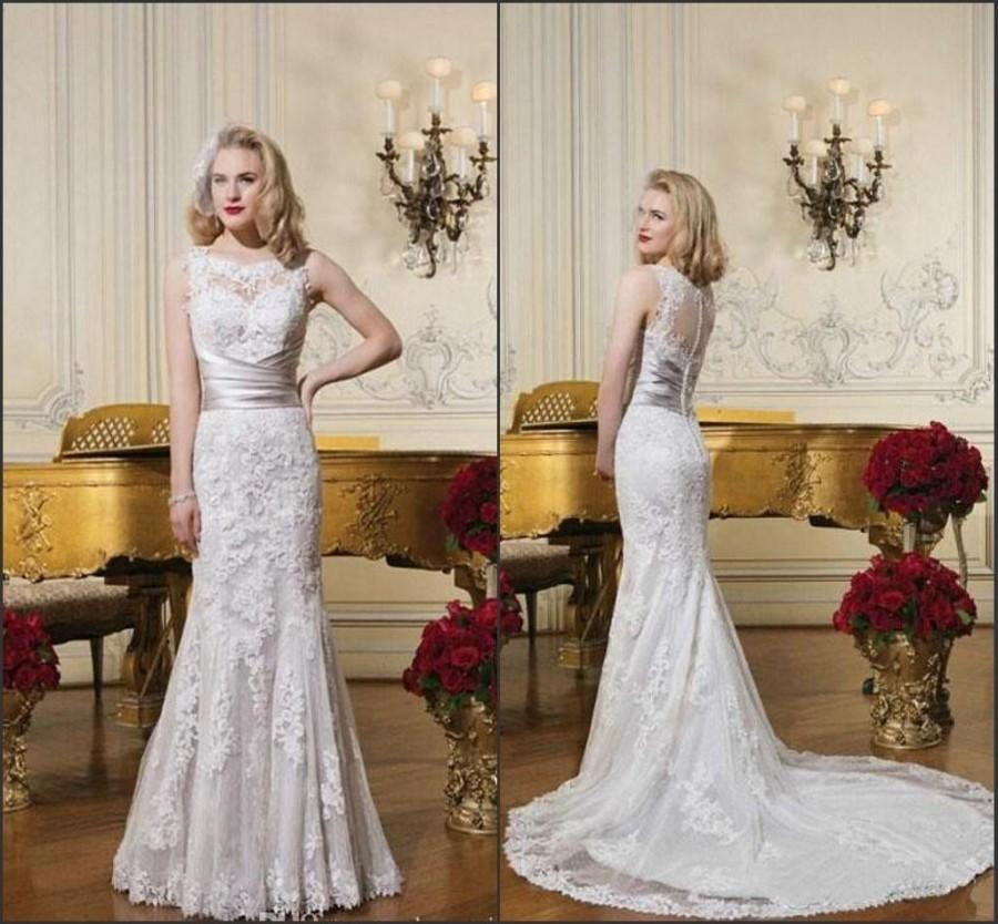 discount new arrival 2015 justin alexander wedding dresses lace