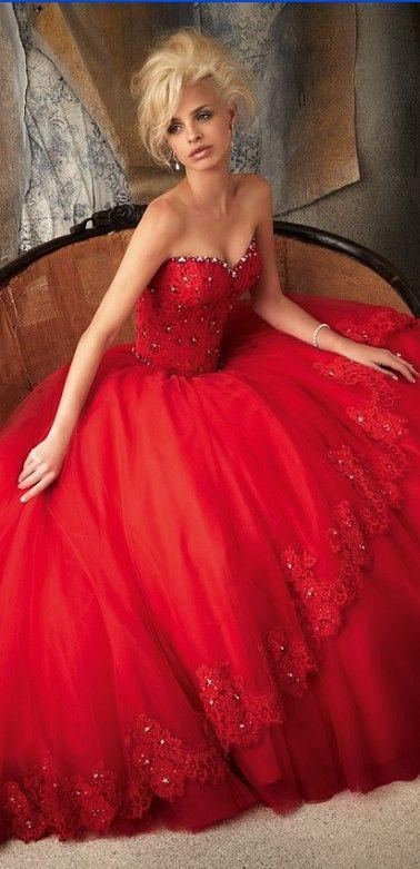 Wedding - Gorgeous Dresses That I Wish I Had Some Place To Wear Them To...