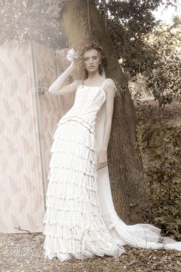 Hochzeit - Ir De Bundó Wedding Dresses 2012