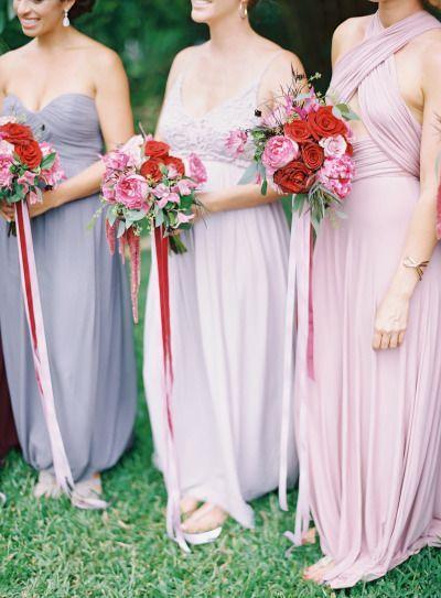 Свадьба - Berry Colored Oahu Wedding